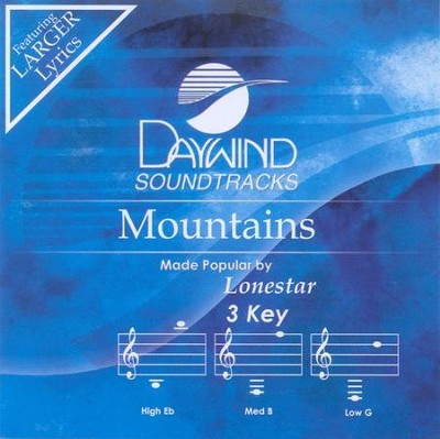 Mountains, Accompaniment CD   -     By: Lonestar