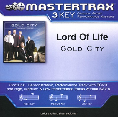 Lord of Life, Acc CD   -     By: Gold City