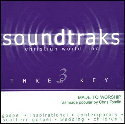Made To Worship, Accompaniment CD   -     By: Chris Tomlin