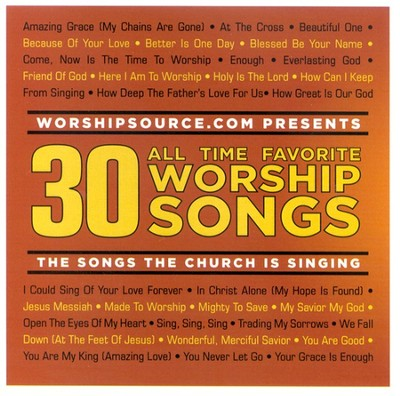 30 All Time Favorite Worship Songs, 2 CDs   -     By: Various Artists