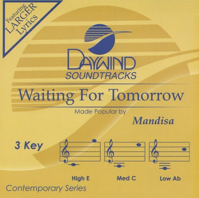 Waiting For Tomorrow, Acc CD   -     By: Mandisa, Mandisa