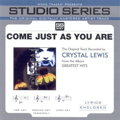Come Just As You Are, Accompaniment CD   -     By: Crystal Lewis