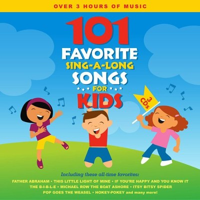 101 Favorite Sing-A-Long Songs for Kids   -     By: Songtime Kids
