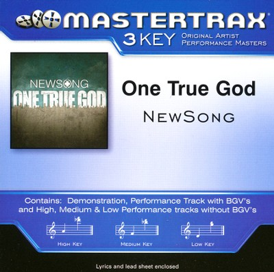 One True God, Acc CD   -     By: NewSong