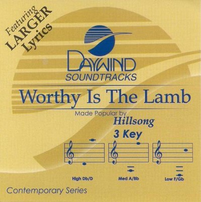 Worthy Is The Lamb, Accompaniment CD   -     By: Hillsong