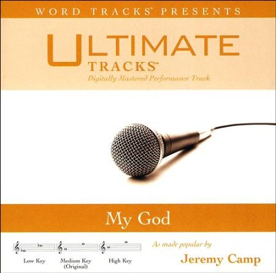 My God (Medium Key Performance Track With Background Vocals)  [Music Download] -