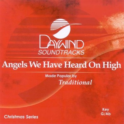 Angels We Have Heard on High, Accompaniment CD   -