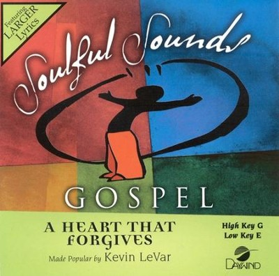 A Heart That Forgives, Accompaniment CD   -     By: Kevin LeVar