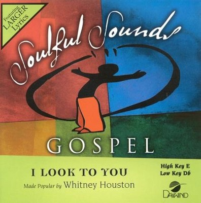 I Look To You, Accompaniment CD   -     By: Whitney Houston