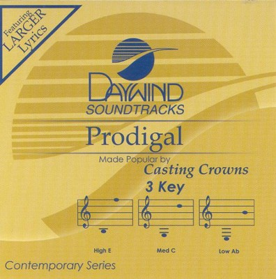 Prodigal, Accompaniment CD   -     By: Casting Crowns