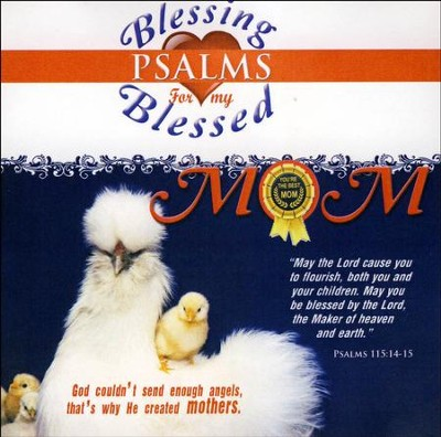 Blessing Psalms for my Blessed Mom CD  -     By: David & The High Spirit