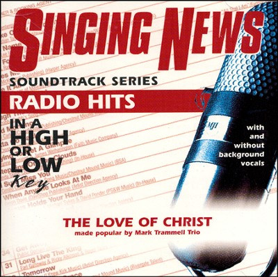 The Love Of Christ, Acc CD   -     By: Mark Trammell Trio