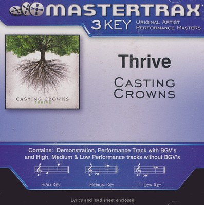 Thrive Acc, CD  -     By: Casting Crowns