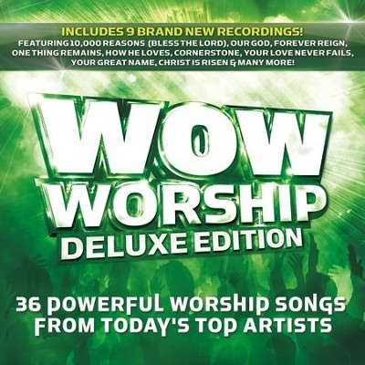 WOW Worship (Lime), Deluxe Version   -     By: Various Artists