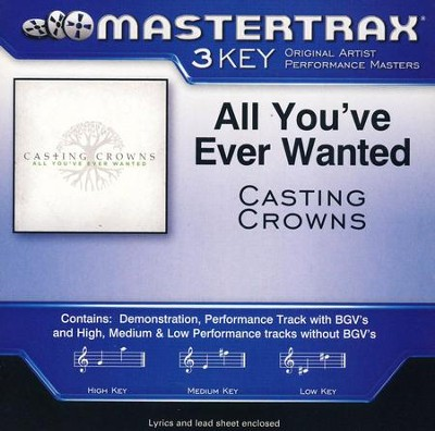 All You've Ever Wanted Acc, CD  -     By: Casting Crowns