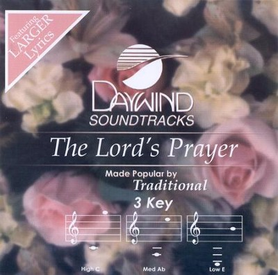 The Lord's Prayer, Accompaniment CD   -