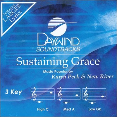 Sustaining Grace Acc, CD  -     By: Karen Peck