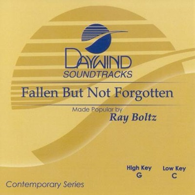 Fallen But Not Forgotten, Accompaniment CD   -     By: Ray Boltz
