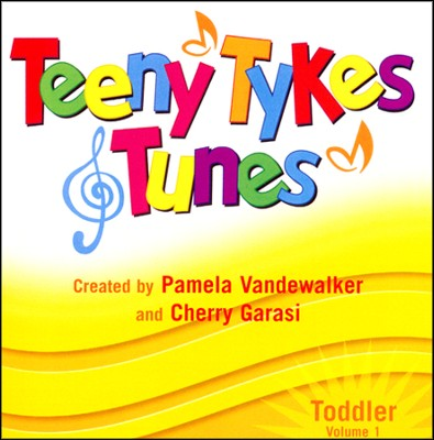 Teeny Tykes & Tunes-Toddler Vol. 1, Stereo CD  -     By: Pamela Vandewalker, Cherry Garasi
