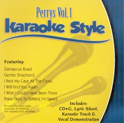 The Perrys, Volume 1, Karaoke Style CD   -