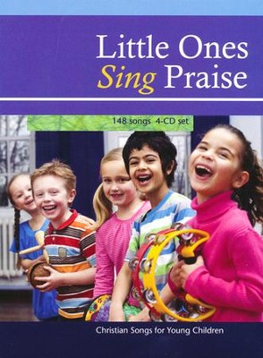 Little Ones Sing Praise 4-CD Set  -     By: Various Artists