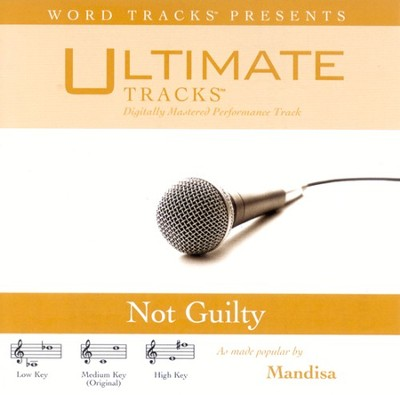 Not Guilty, Accompaniment CD   -     By: Mandisa