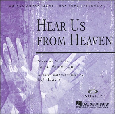 Hear Us From Heaven (CD Octavo Track)  -     By: Jared Anderson