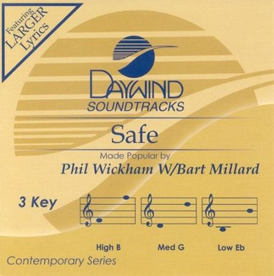 Safe, Accompaniment CD   -     By: Phil Wickham