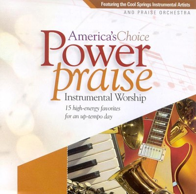 Power Praise Instrumental Worship CD   -