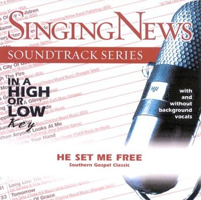 He Set Me Free, Accompaniment CD   -