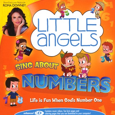 Little Angels Sing About Numbers, CD   -