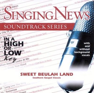 Sweet Beulah Land, Accompaniment CD   -