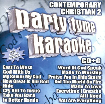 Party Tyme Karaoke: Contemporary Christian 2 (16 Track Version) CD  -