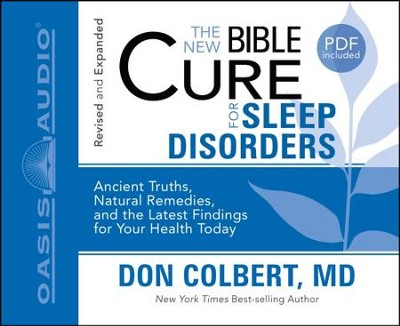 The New Bible Cure for Sleep Disorders - Unabridged Audiobook  [Download] -     By: Don Colbert
