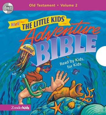 NIrV Little Kids Adventure Audio Bible Vol 2 - Unabridged Audiobook  [Download] -