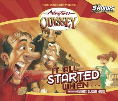 Adventures in Odyssey® 183: Tales of Moderation   [Download] -