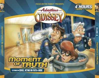 Adventures in Odyssey® 616: The Other Side of the Glass, Part 1 of 3  [Download] -