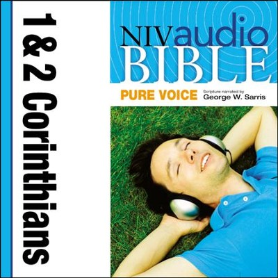 NIV Audio Bible, Pure Voice: 1 and 2 Corinthians, Narrated by George W. Sarris - Special edition Audiobook  [Download] -     Narrated By: George W. Sarris     By: George W. Sarris(NARR)