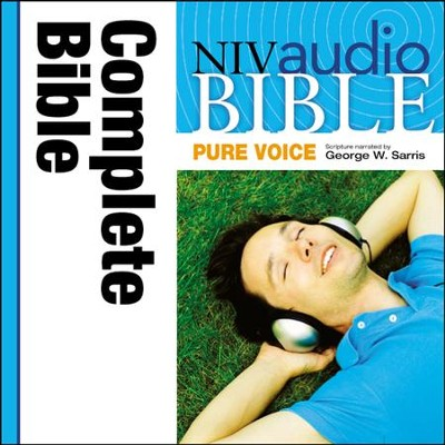 NIV Audio Bible, Pure Voice Narrated by George W. Sarris - Special edition Audiobook  [Download] -     Narrated By: George W. Sarris     By: George W. Sarris(NARR)
