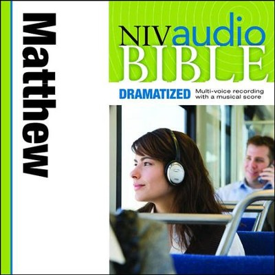 NIV Audio Bible, Dramatized: Matthew - Special edition Audiobook  [Download] -     By: Zondervan