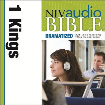 NIV Audio Bible, Dramatized: 1 Kings - Special edition Audiobook  [Download] -     By: Zondervan
