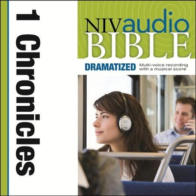 NIV Audio Bible, Dramatized: 1 Chronicles - Special edition Audiobook  [Download] -     By: Zondervan