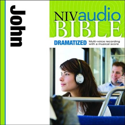 NIV Audio Bible, Dramatized: John - Special edition Audiobook  [Download] -     By: Zondervan