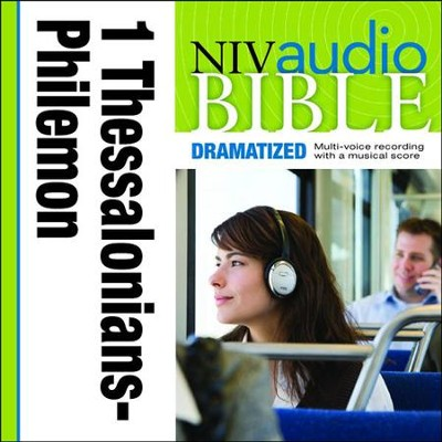NIV Audio Bible, Dramatized: 1 and 2 Thessalonians, 1 and 2 Timothy, Titus, and Philemon - Special edition Audiobook  [Download] -     By: Zondervan