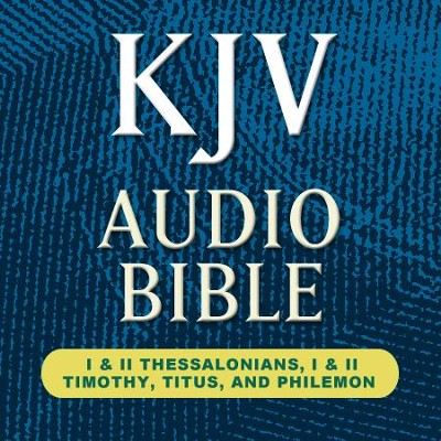 KJV Audio Bible: I & II Thessalonians, I & II Timothy, Titus, and Philemon (Voice Only)  [Download] -     Narrated By: Stephen Johnston     By: Stephen Johnston