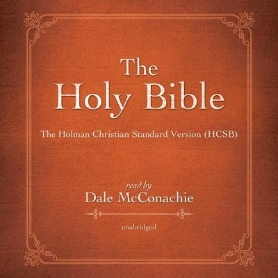 The Holman Christian Standard Audio Bible: The Voice Only Holman Christian Standard Audio Bible (HCSB)  [Download] -