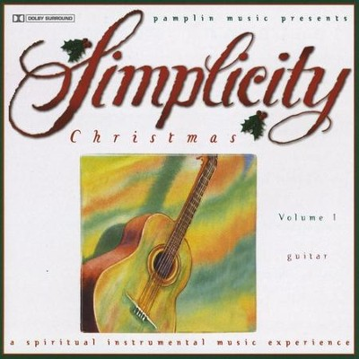 Volume 1 - Guitar  [Music Download] -     By: Simplicity Christmas