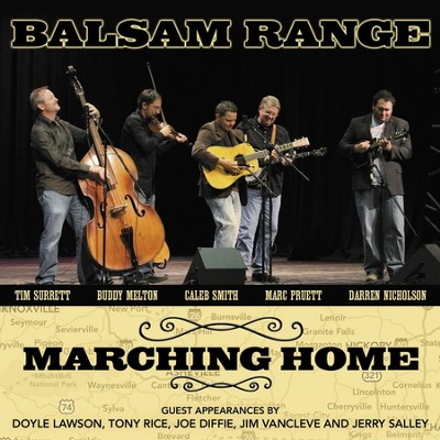 Burning Georgia Down  [Music Download] -     By: Balsam Range