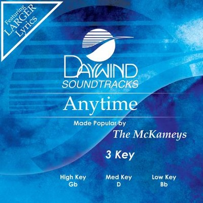 Anytime  [Music Download] -     By: The McKameys