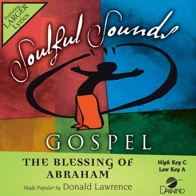 Blessing Of Abraham  [Music Download] -     By: Donald Lawrence